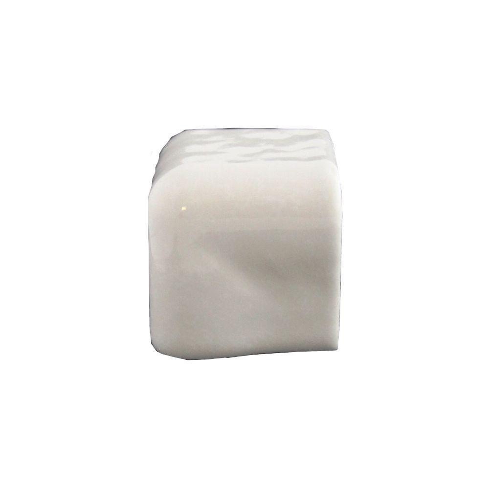 Daltile Semi Gloss White 2 In X Ceramic Counter Corner Trim