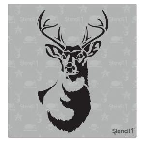 Stencil1 Antlered Deer Small Stencil S1 01 52s S The