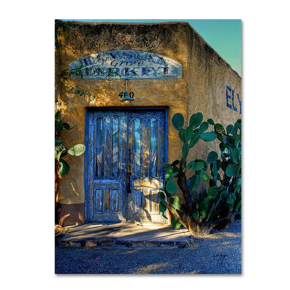 Trademark Fine Art 24 in. x 16 in. Elysian Grove Market Canvas Art