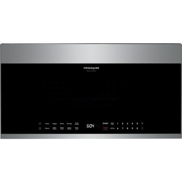 30 in. 1.9 cu. ft. Over the Range Microwave in Stainless Steel