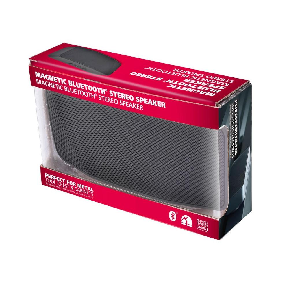 Unbranded Magnetic Bluetooth Stereo Speaker-THD10-10A - The Home Depot