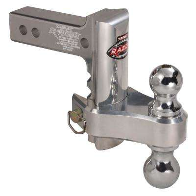 6 in. Razor Aluminum Adjustable Drop Hitch, Pin and Clip