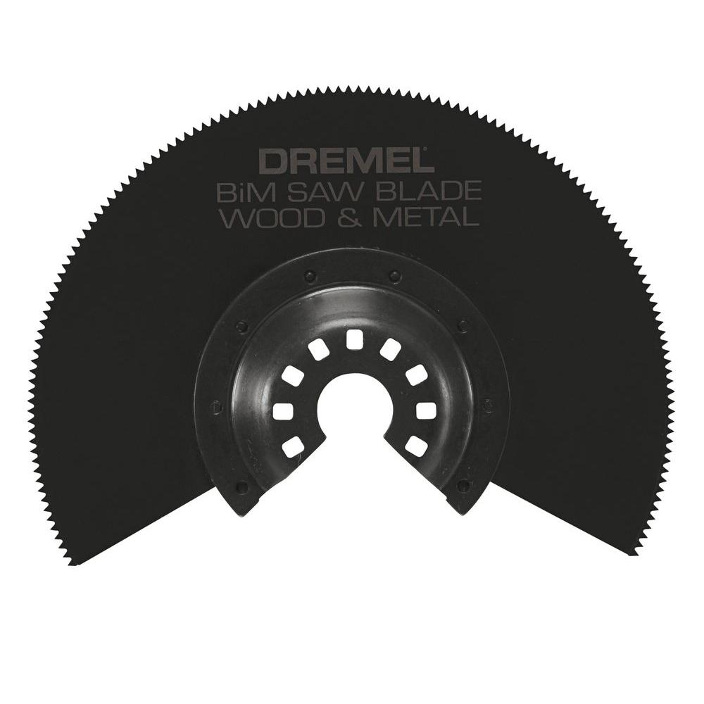 Dremel Multi-Max Bi-Metal Saw Oscillating Tool Blade for Wood, Drywall, and Metal