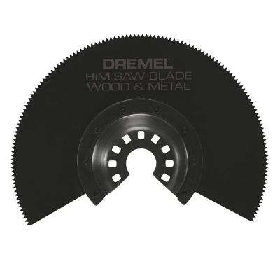 Multi-Max Bi-Metal Saw Oscillating Tool Blade for Wood, Drywall, and Metal