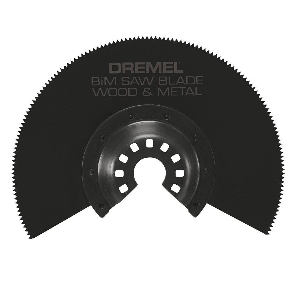 Multi-Max Bi-Metal Saw Oscillating Tool Blade for Wood, Drywall, and Metal