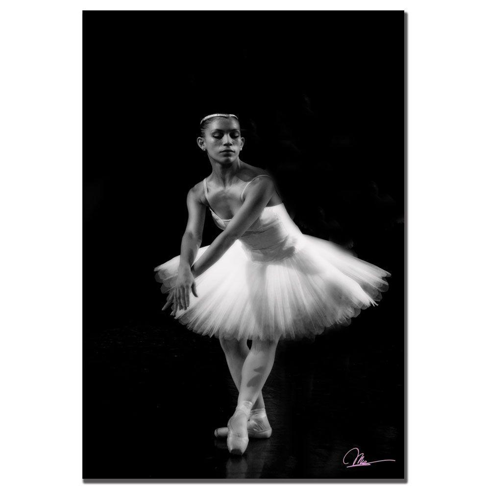 Trademark Fine Art 22 in. x 32 in. Ballerina IV Canvas Art