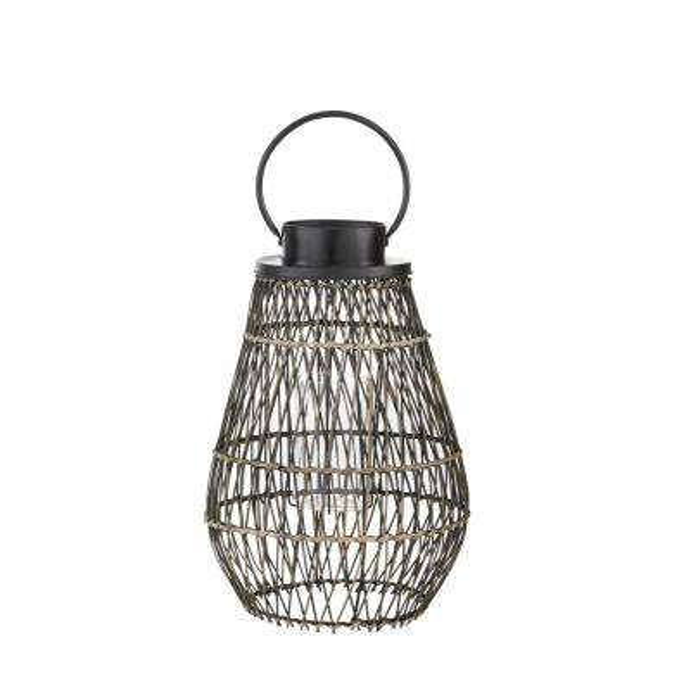 Small Outdoor Bamboo Lantern