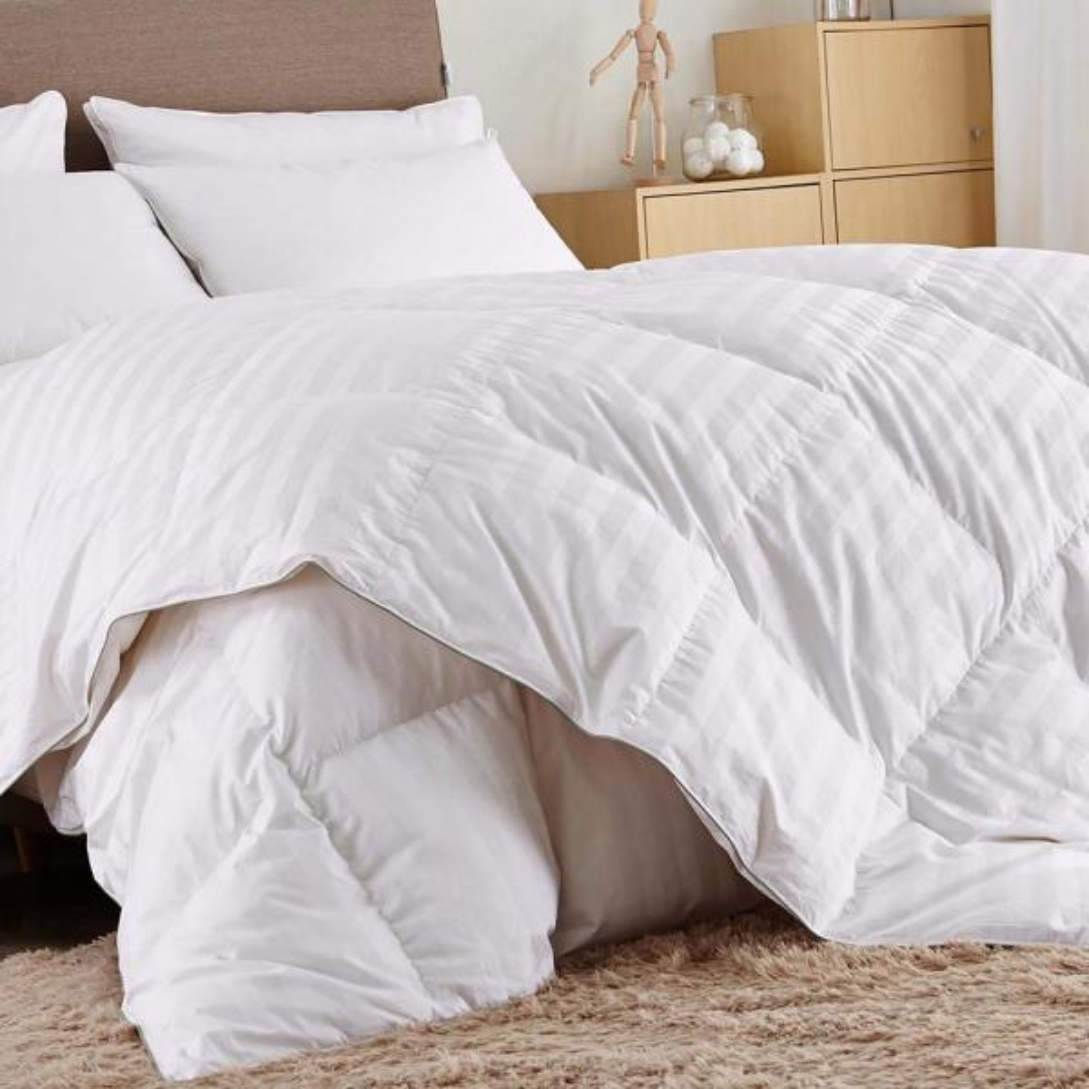 Year Round Warmth White King Down Comforter