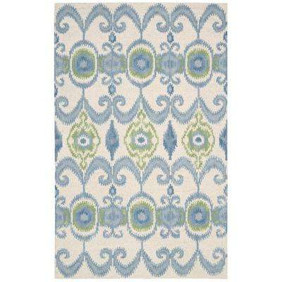 Siam Ivory 5 ft. 6 in. x 7 ft. 5 in. Area Rug