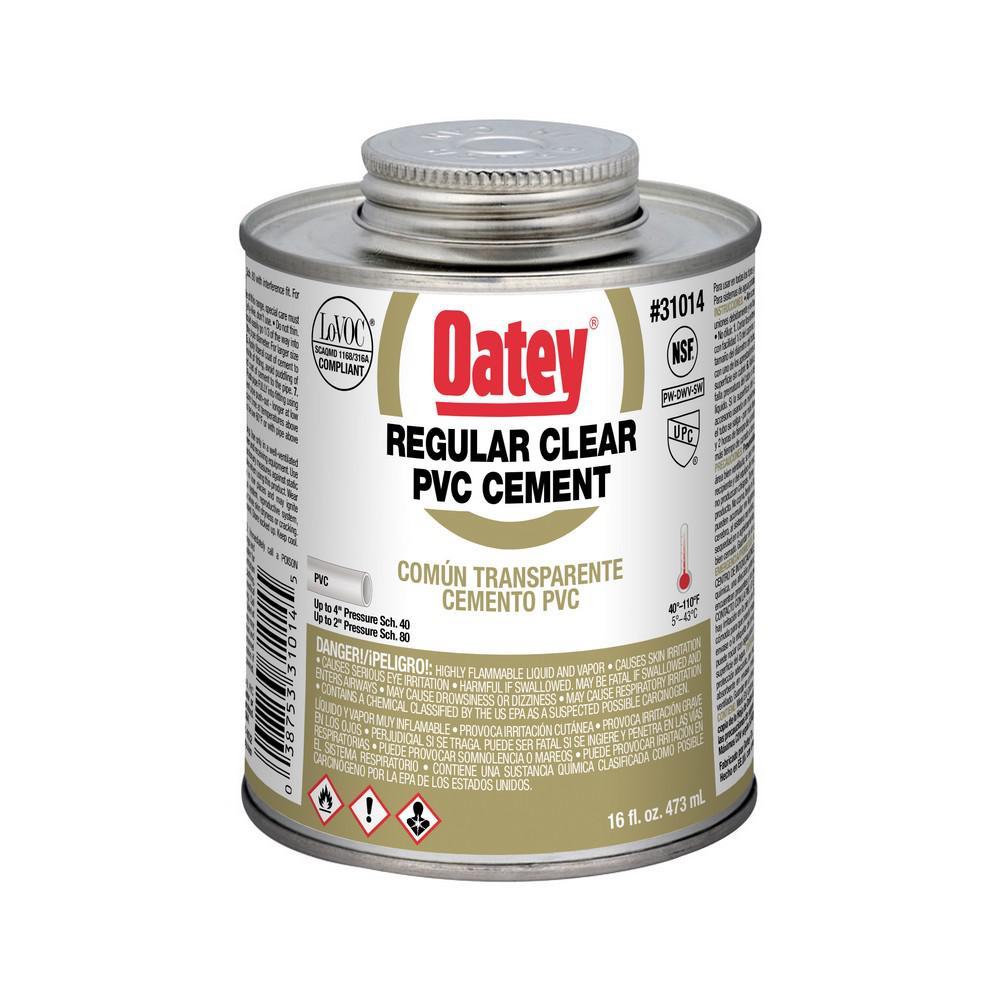16 oz. PVC Clear Solvent Cement