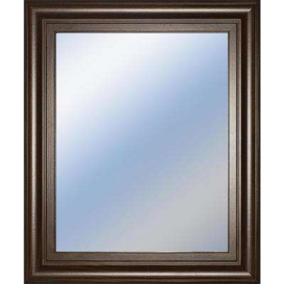 """22 in. x 26 in. """"Decorative Framed Wall Mirror"""" by Classy Art Framed Printed Wall Art"""
