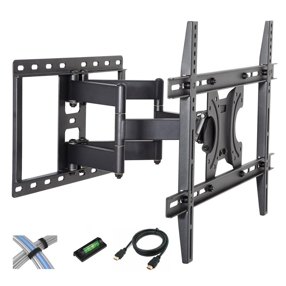 Tilt-Swivel Wall Mount with 6 ft. HDMI Cable, Cable Ties and