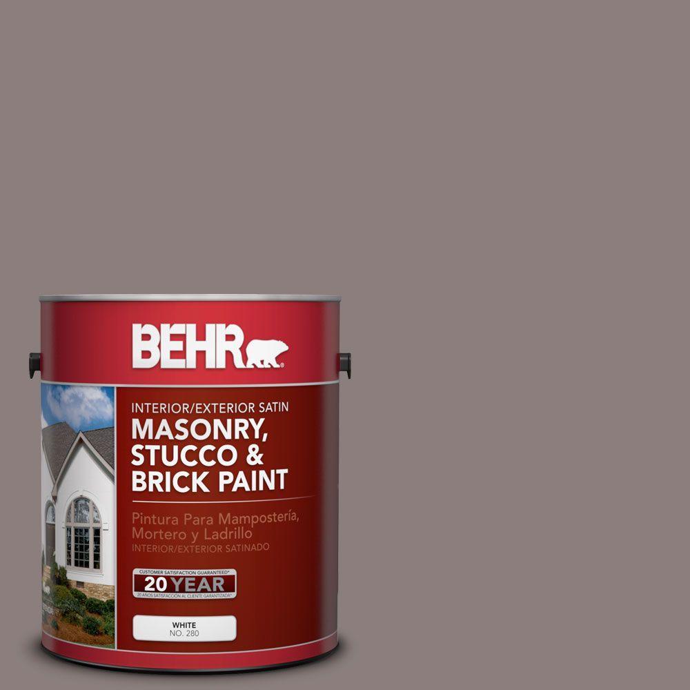 1-gal. #MS-89 Folkstone Satin Interior/Exterior Masonry, Stucco and Brick Paint