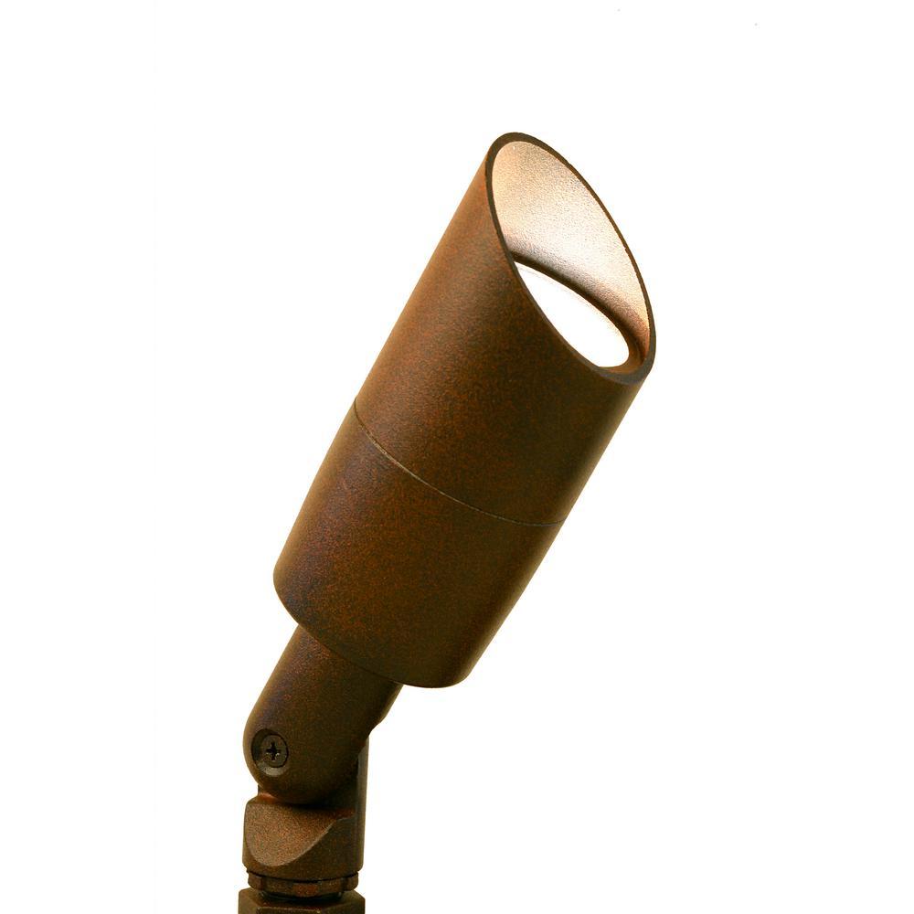 Low Voltage Rust Outdoor Landscape Uplight Bullet Spot Light