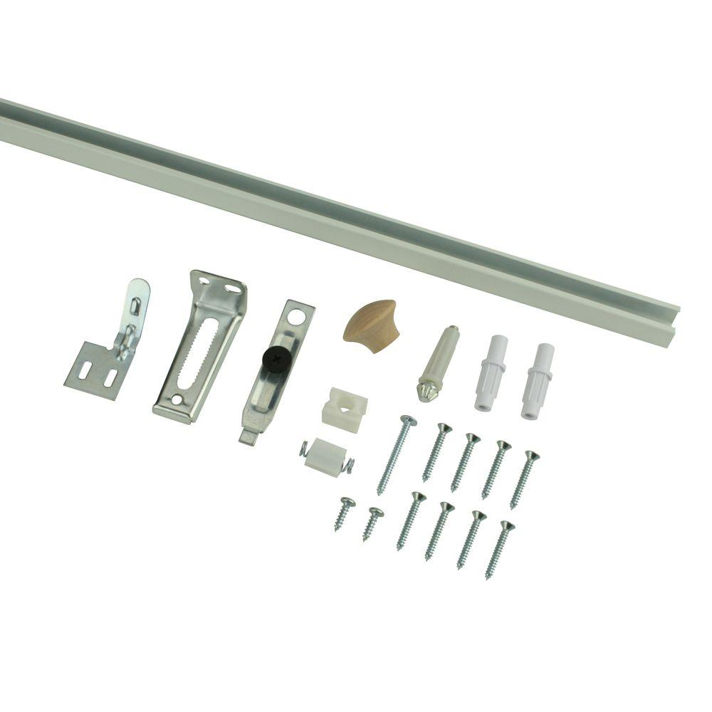 Everbilt 24 in bi fold door hardware set 14966 the home for Folding sliding doors home depot
