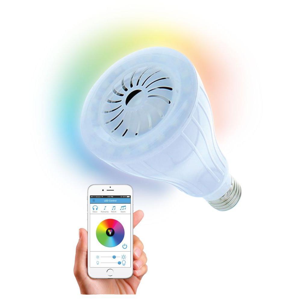 Beat Bluetooth Speaker with LED Light Bulb