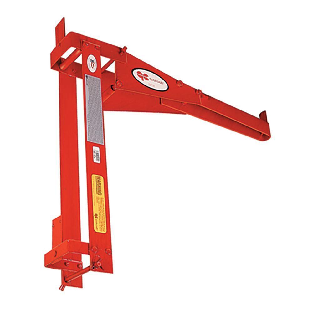 Qualcraft Pump Jack Guard Rail/Work Bench