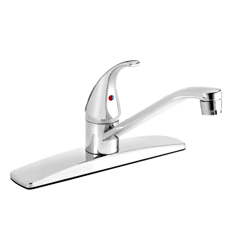 Belanger Single-Handle Standard Kitchen Faucet in Polished Chrome