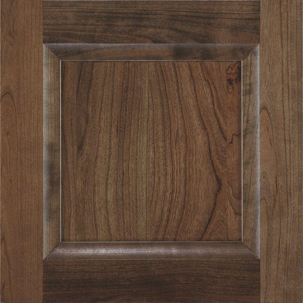 14.5x14.5 in. Cabinet Door Sample in Huchenson Mink