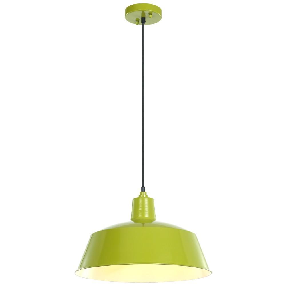 Ledpax Technology Kenai 1-Light Lime Green Pendant-LPPLG1