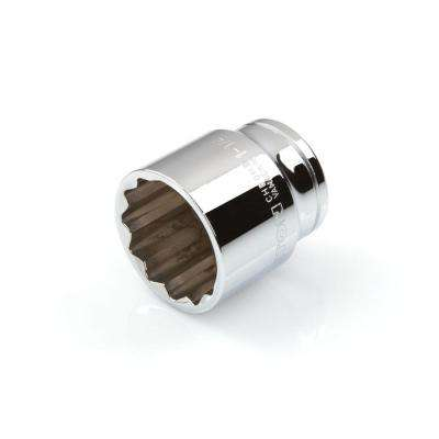 1/2 in. Drive 1-1/4 in. 12-Point Shallow Socket