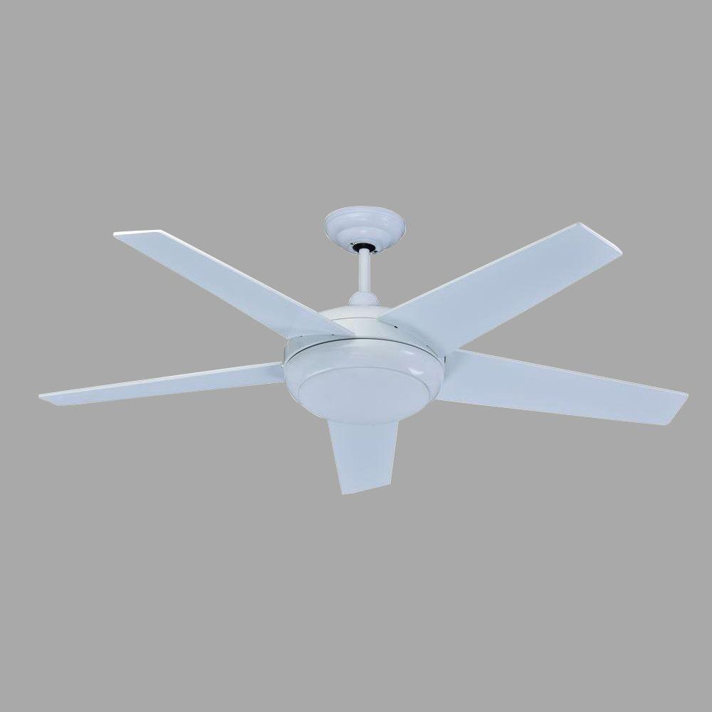 Florina 54 in white direct current ceiling fan with light kit white direct current ceiling fan with light kit aloadofball Choice Image
