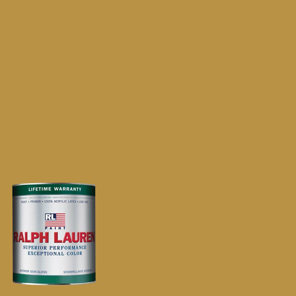 Ralph Lauren 1-qt. Satchel Gold Semi-Gloss Interior Paint