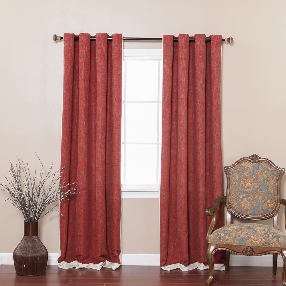 best home fashion 84 in l burgundy bottom bordered. Black Bedroom Furniture Sets. Home Design Ideas