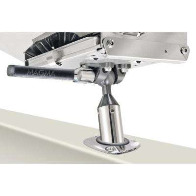 LeveLock All-Angle Fish-Rod Holder (HD) Mount for All Rectangular Grills and Single Mount Filet Tables