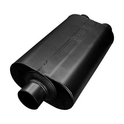 Universal Super 50 Muffler 409S - 3.00 Center In / 2.50 Dual Out