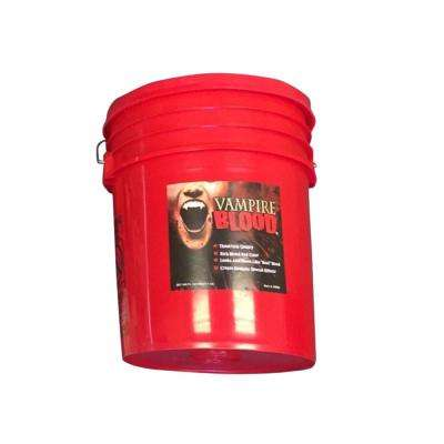 5 Gal. Blood - Red Liquid Bucket