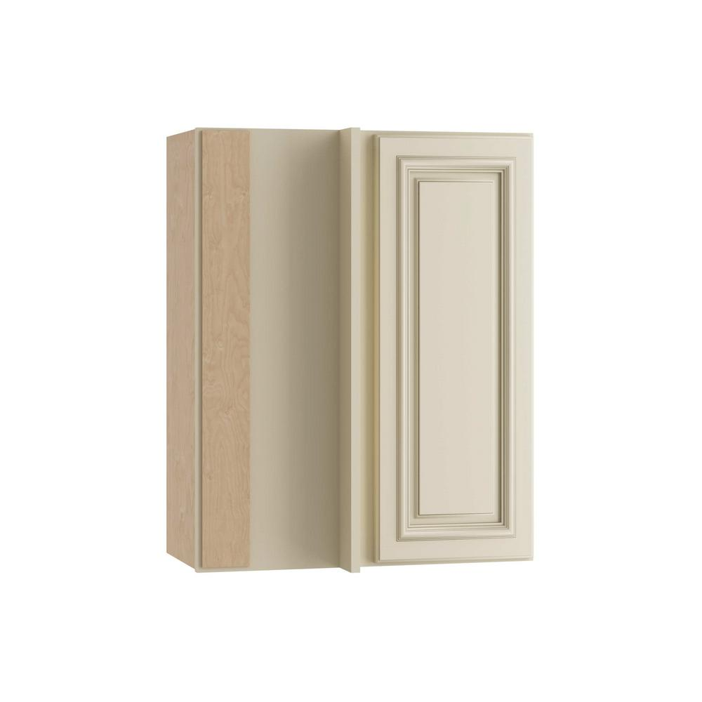 Home Decorators Collection Holden Assembled 24x30x12 in. Single Door Hinge Left Wall Kitchen Blind Corner  sc 1 st  Home Depot & Home Decorators Collection Holden Assembled 24x30x12 in. Single ...