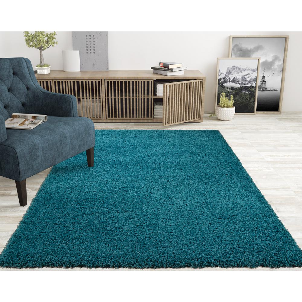 5 Ft X 7 Shag Area Rug Ls2766 5x7