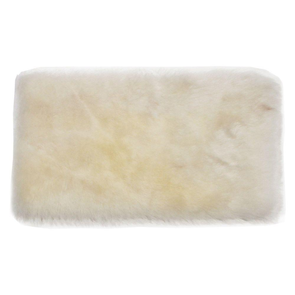 Applicator and More 10 in. x 1 in. Lambskin Floor Applicator Refill Pad