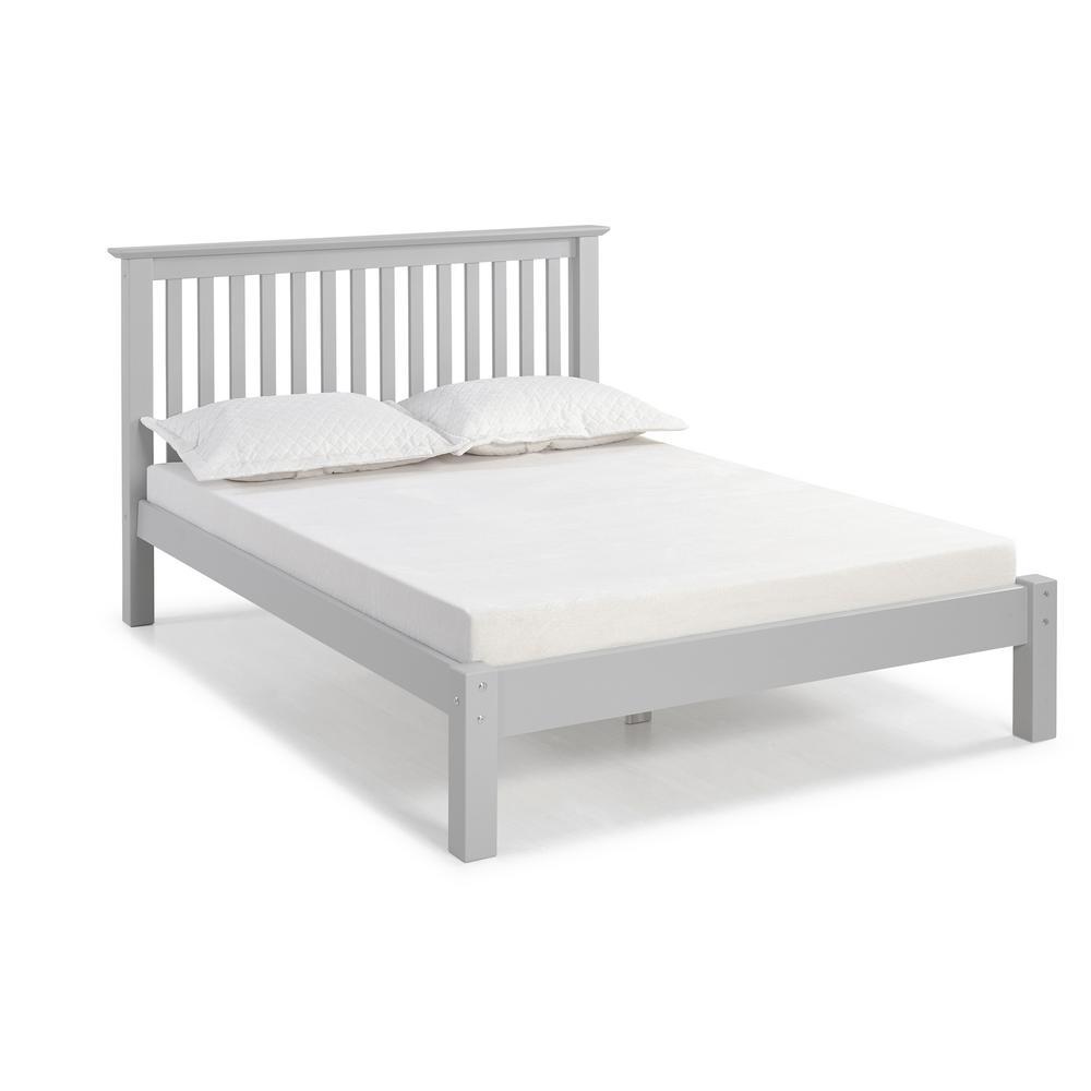 Barcelona Dove Gray Full Bed