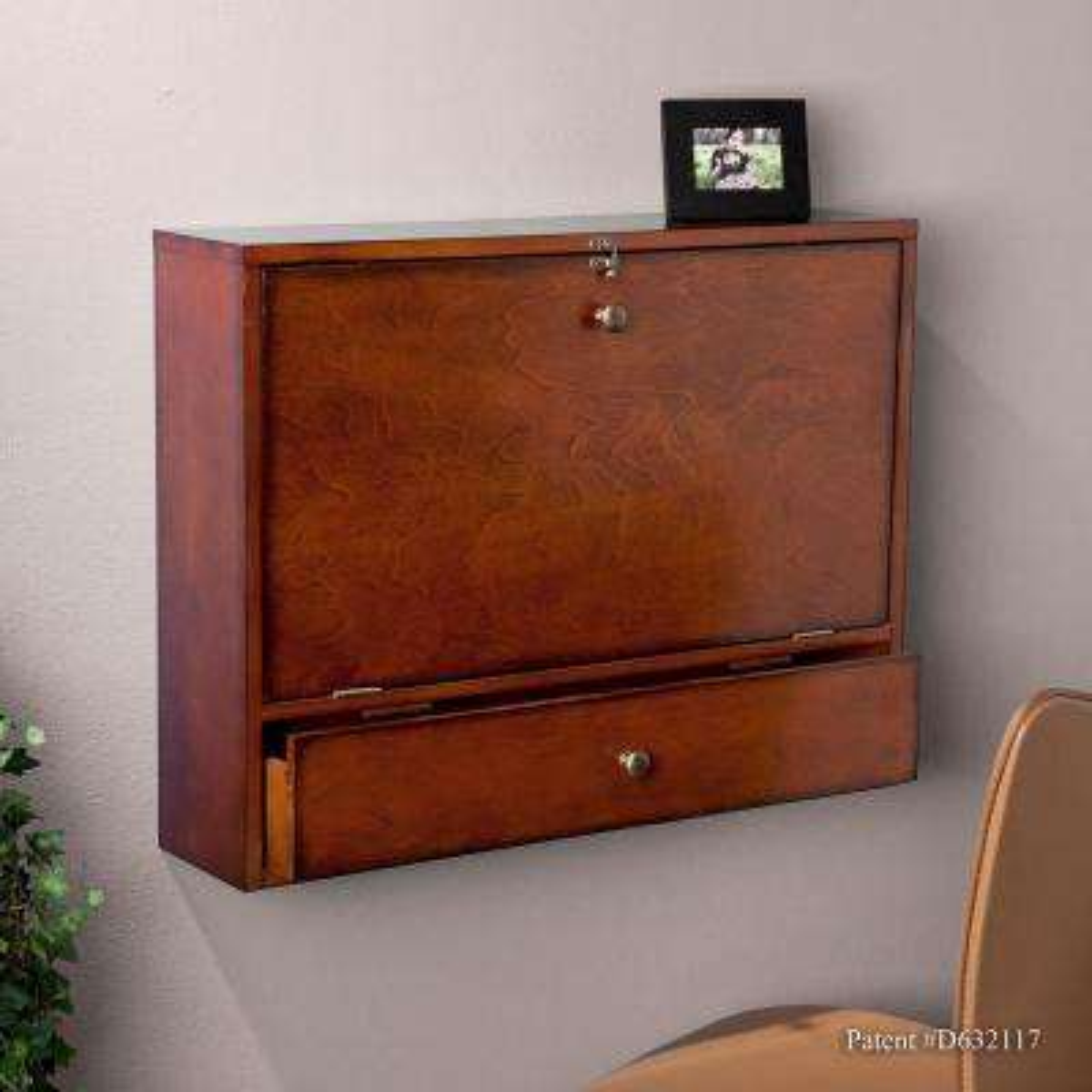 Brown Mahogany Desk