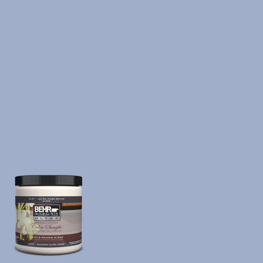 BEHR Premium Plus Ultra 8 oz. #610D-4 Bellflower Interior/Exterior Paint Sample