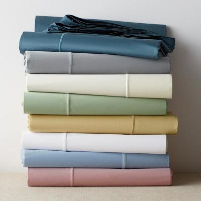 Classic Solid 350-Thread Count Sateen Duvet Cover