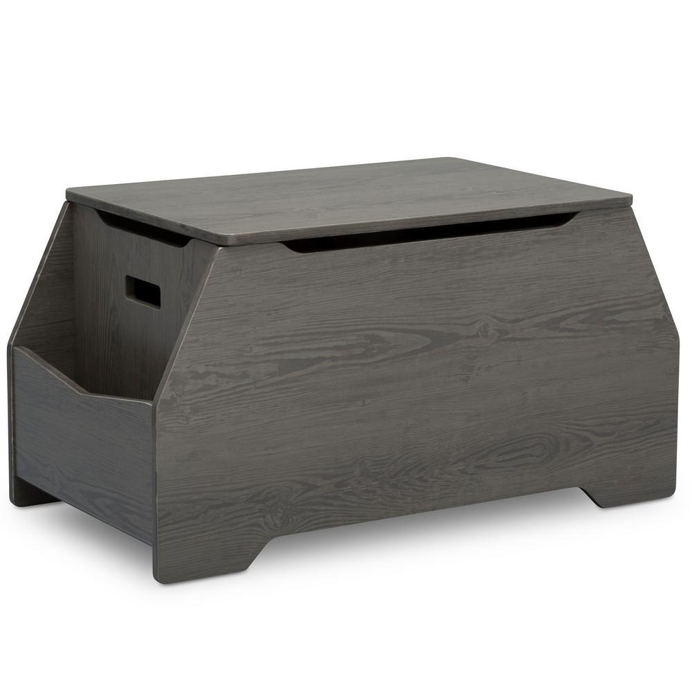 Mason Crafted Grey Toy Box