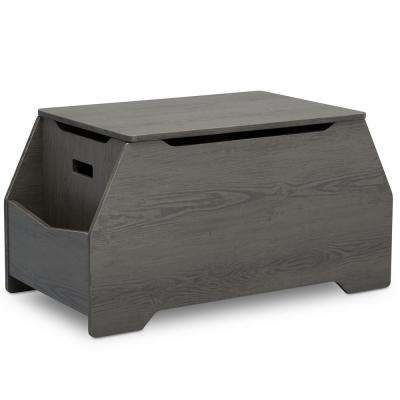 Mason Crafted Grey Toy Box