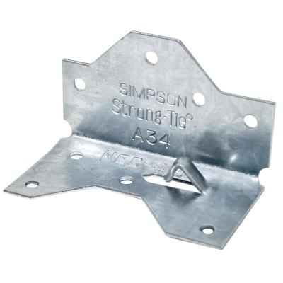 1-7/16 in. x 2-1/2in. Galvanized Framing Angle