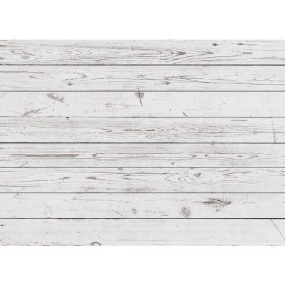 MHF Home Whitewashed Barn Taupe Polypropylene Placemat Set (4-Pack)