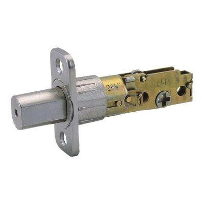 Universal Satin Nickel 6-Way Replacement Deadbolt Latch