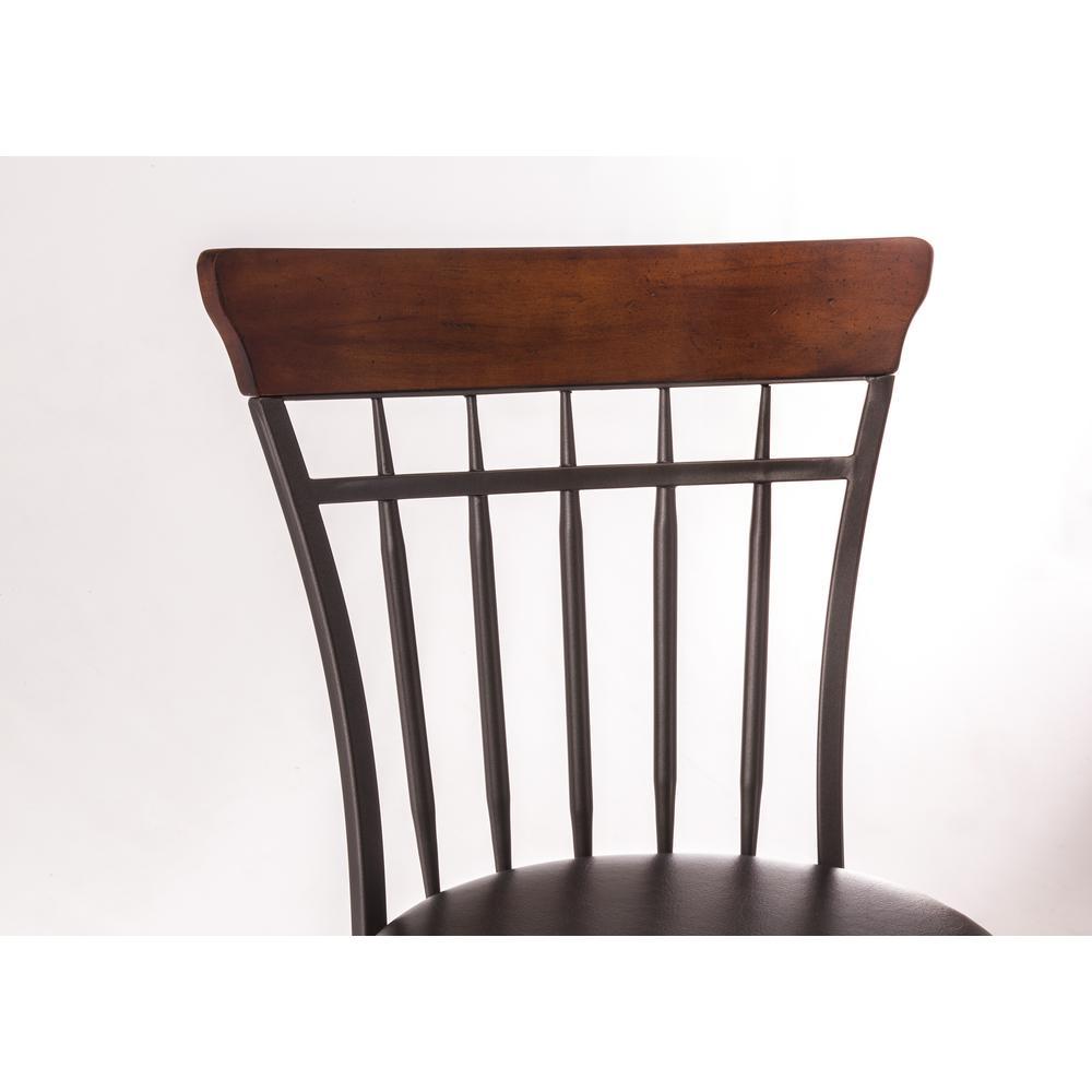 Fantastic Hillsdale Furniture Cameron 30 In Chestnut Brown Swivel Beatyapartments Chair Design Images Beatyapartmentscom
