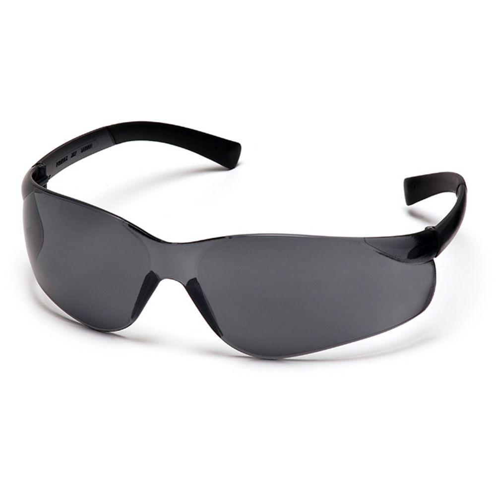 Ztek Gray Temples Gray Lens Safety Glasses-DISCONTINUED