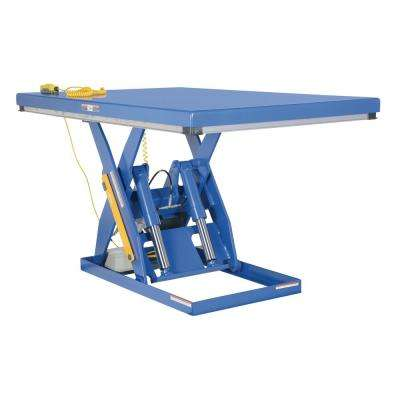 3,000 lb. Capacity 48 in. x 72 in. Electric Hydraulic Scissor Lift Table