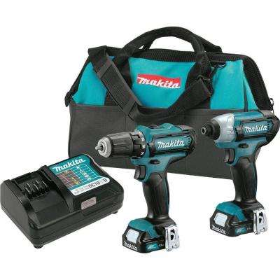 12-Volt MAX CXT Lithium-Ion Cordless 3/8 in. Drill and Impact Driver Combo Kit with (2) 1.5Ah batteries Charger Case
