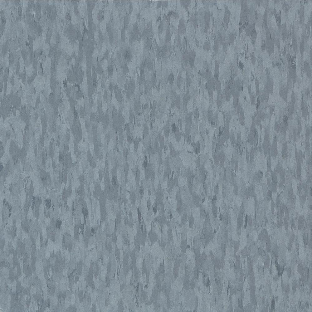 Imperial Texture VCT 12 in. x 12 in. Mid Grayed Blue