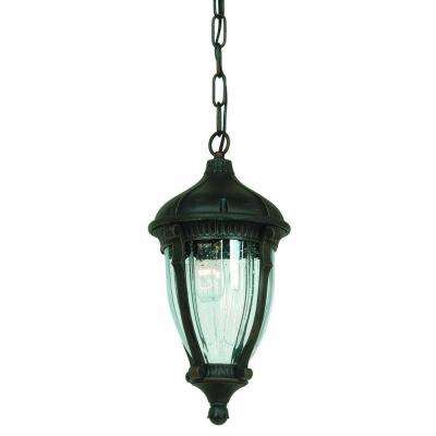 Kahley 1-Light Oil Rubbed Bronze Outdoor Pendant