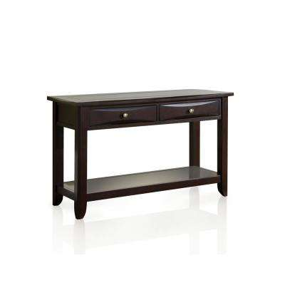 Antony Espresso 2-Drawer Console Table